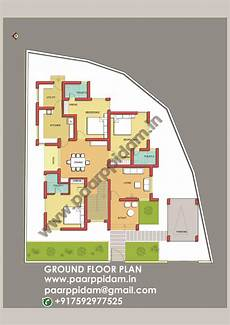 3 bedroom house plans india 3 bedroom villa plan kerala india small house plans