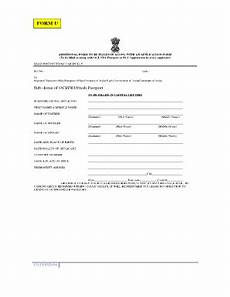 form u oci fillable online form u vfs global fax email print pdffiller