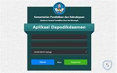 atasi akun kepala sekolah tidak bisa login di dhgtk dan aplikasi dapodikdasmen versi 2019 e