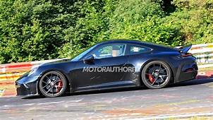 2021 Porsche 911 GT3 Touring Spy Shots And Video