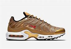the nike air max plus in quot metallic gold quot releasing later
