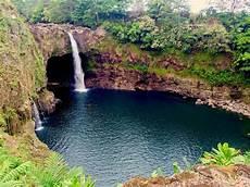 hawaii rainbow falls big island relax vacations