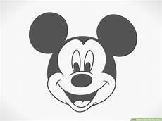 Micky Maus Ausmalbilder Kopf Mickey Mouse Zeichnen Ausmalbilder Und Vorlagen