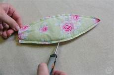fiori in tessuto tutorial il tutorial per il tulipano in tessuto casa e trend