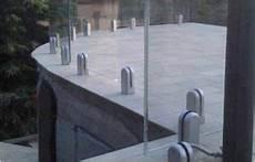 prix plaque de verre profil pour garde corps verre avec fixations verresurmesures