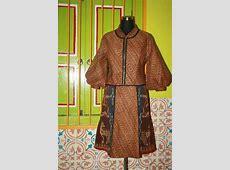 Dress batik tenun sumbay   Pakaian wanita, Desain blus