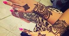 Gambar Tato 10 Gambar Henna Terbaru Di Kedua