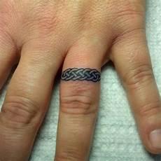 5 unique celtic knot wedding band tattoos wedding band