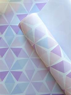 Geometric Wallpaper Pastel
