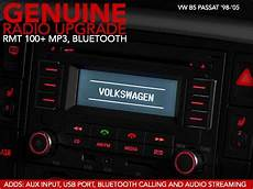 ecs news vw b5 passat genuine radio upgrade