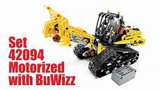lego 174 technic 42094 tracked loader buwizz motorization