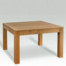 table extensible bois 15517 table en bois massif carr 233 e extensible moderne mc 4 pieds