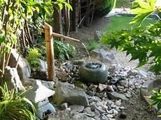 fontaine jardin japonais fontaine tsukubai jardin japonais