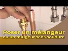 plomberie sans soudure per la pose d un m 233 langeur ou d un mitigeur sans soudure