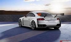 Official Audi Tt Clubsport Turbo Concept Gtspirit