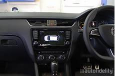 skoda park pilot front parking sensor system with optical