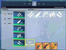 fortnite how to get and craft ammo heavy overview for grumpykait