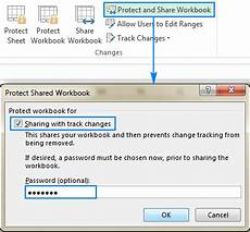 excel shared workbook how to share excel file for multiple users