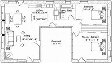 courtyard house plans u shaped small u shaped house plans u shaped house plan with