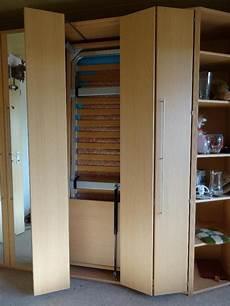 Schrankwand Mit Bett - schrankwand mit bett schrankbett ideal f 252 r eine kleine