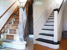 renover escalier en bois r 233 novation escalier id 233 es escalier peint et d 233 co mont 233 e