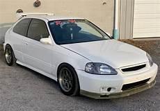 No Reserve K20 Powered 1996 Honda Civic Hatchback 6 Speed