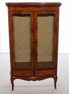 antike vitrine marconi arte aus wurzelholz im