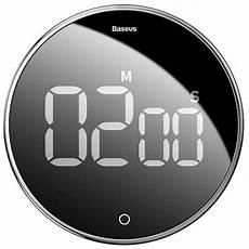 Jiezhi Magnetic Electronic Timer From Xiaomi by Baseus Acdjs 01 Mute Magnetic Catche Timer Cycle Time