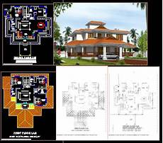 nalukettu house plans nalukettu dwg elevation for autocad designs cad