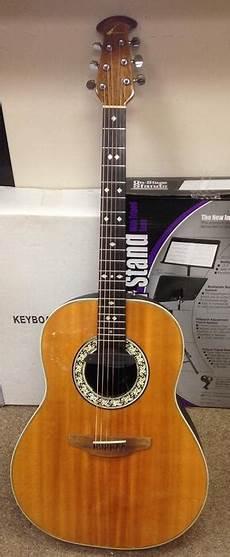 Vintage Ovation Balladeer 1112 Acoustic Guitar W
