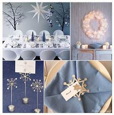 deco noel bleu et blanc deco de table noel osez l originalit 233 decoration table