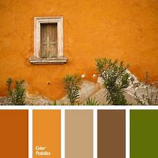 this autumn palette orange brown and gray brown hues are