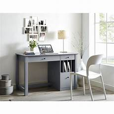 home office computer desk furniture home office deluxe wood storage computer desk grey