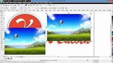 Cara Memasukan Gambar Ke Dalam Objek Di Coreldraw X6