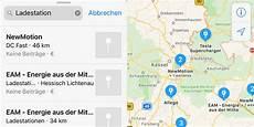 ladestationen in deutschland apple maps zeigt ladestationen in deutschland an