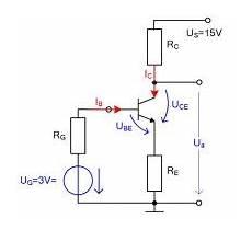 basisstrom berechnen transistor mit stromgegenkopplung