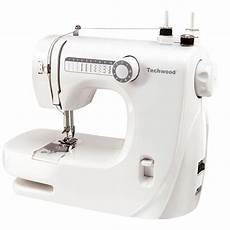 techwood tmac 608 machine 224 coudre 10 pts blanc