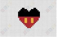 mickey pixel mickey mouse pixel brik pixel designs