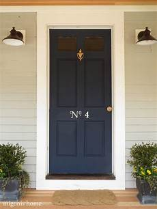 increase curb appeal by painting charming house numbers your door by migonis home diy