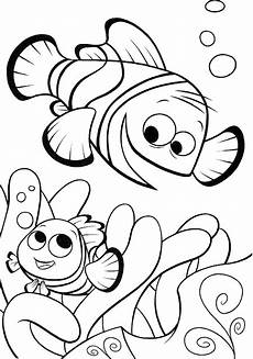 disney finding nemo fish coloring pages to drawing pictures