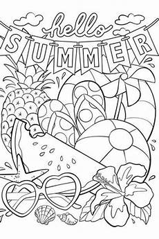 best free summer printables decor coloring