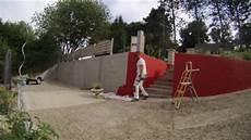 time laps mise en peinture d un mur ext 233 rieur