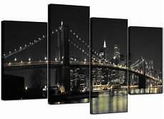 canvas wall of new york for your office 4 part