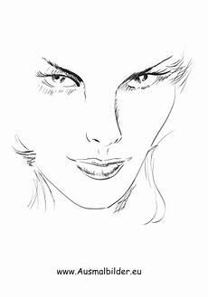 Malvorlagen Menschen Gesichter Ausmalbilder Frauengesicht Gesichter Und Frisuren