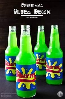 homemade slurm drink from futurama the flavor bender