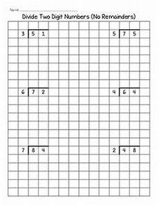 division worksheets on graph paper 6315 division worksheets math division worksheets division division activities