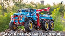 lego technic 42070 lego technic 42070 6x6 all terrain tow truck detailed