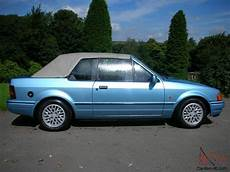 Ford Xr3i Convertable Cabriolet
