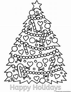 happy holidays coloring pages