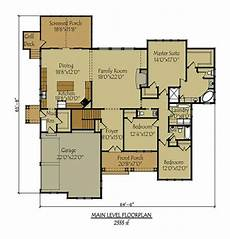 bungalow house plans with walkout basement craftsman style lake house plan with walkout basement